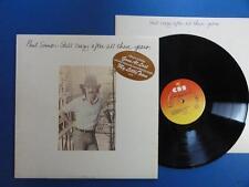 Paul Simon aún loco después de todos estos años CBS 75 A2B2 Reino Unido LP EX