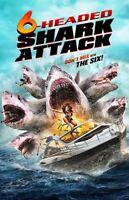 6-headed Shark Attack [New DVD]