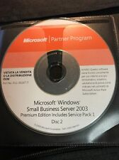 Microsoft partner program Microsoft Windows Small Business Server 2003