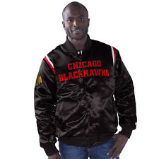 NHL chicago blackhawks starter giacca jacket LARGE hockey toews hossa ness bulls