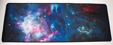 Gaming Mouse Pad Extended XXL Large Keyboard Mouse Mat Anti-Slip Rubber Sky Girl