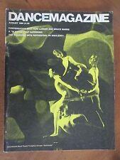 DANCE MAGAZINE  August 1969