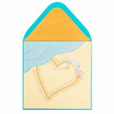 Papyrus Written in the Sand Love Card