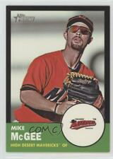 2012 Topps Heritage Minor League Edition Black Border /96 Mike McGee #84