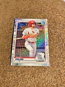 Dylan Carlson 2020 Bowman Chrome Prospects Mega Box Mojo #BCP-236