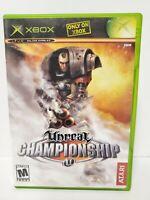 Unreal Championship (Microsoft Xbox, 2003) - Complete