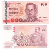 THAILAND 100 Baht ND (2004) P-113 Banknote Paper Money UNC