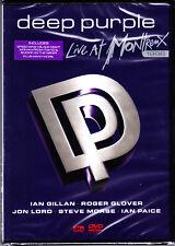 DEEP PURPLE live at montreux 1996 DVD  NEU OVP/Sealed