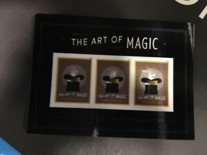 Forever Art Of Magic Souviener Sheet Missing Die Cut Error . Only 60 Known