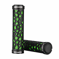 RockBros Double Lock-on Bicycle Handlebar Grips MTB BMX Fixed Gear Bike Green