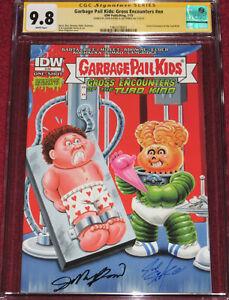 CGC SS Garbage Pail Kids: Gross Encounters signed by Joe Simko & JOHN POUND!!!
