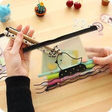 School Supplies Clear Pencil Case Cute Chicken Cosmetic Bag Pen Storage