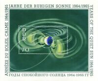 DDR #MiBl22 MNH S/S CV€2.60 1964 Calm Sun [747]
