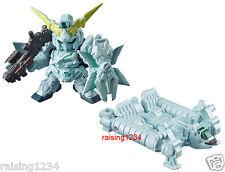 BANDAI SD Gundam Next Real Color 3 Figure (RX-0 Unicorn Awakened & Jabber) 2 pcs