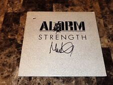 """The Alarm Mike Peters Signed Strength 12"""" Vinyl EP Record 1985 Coloursound Rare"""