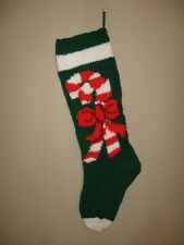 Hand Knitted Christmas Stockings Personalized