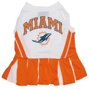 NFL Cheerleader Outfit for Dogs/Cats. 32 Football Teams, 3 Sizes. Licensed, NEW!