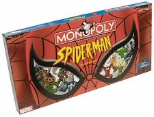 SPIDERMAN Marvel Comics Edition NEW Sealed MONOPOLY Board Game Pewter Pieces NIB