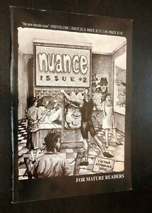 NUANCE #2 (Magnetic Ink Comics 1990) -- VG/F