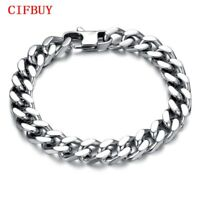 Man Bracelets Fashion Stainless Steel Chunky Link Chain Classical Men Jewelry 手镯