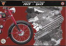 Carte Postale  - Cycle Monet Goyon - Centenaire Editions 26 & 27 mai 2017 MACON