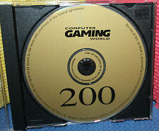 Computer Gaming World Magazine 200 CD-Rom with full Games and Demos