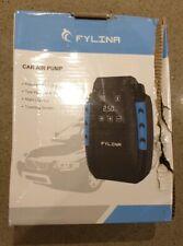 FYLINA Tyre Inflator Pump, FYLINA 12V Digital Air Compressor Pump, 150W Car Pump