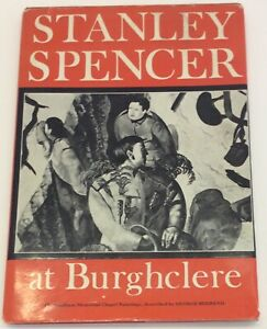Stanley Spencer at Burghclere Used Vintage Book Good Condition