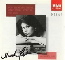 Navah Perlman: Debut: Piano Works Signed Import w/ Art MUSIC AUDIO CD Autograph