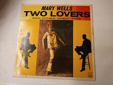 Mary Wells ‎– Two Lovers Vinyl LP 1981