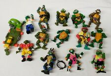 Vintage Teenage Mutant Ninja Turtle Action Figure Lot 1988-1992