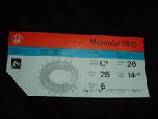 Montreal Olympics 1976 Athletics Ticket Track & Field Original July 26