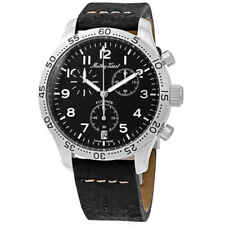 Mathey-Tissot Flyback Type 21 Chronograph Black Dial Men's Watch H1821CHALNG