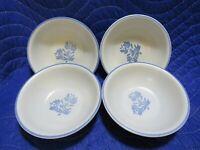 "Pfaltzgraff Yorktowne - Set of 4 cereal/soup bowls  6"""