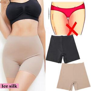 Women Anti Chafing High Waisted Underwear Safety Yoga Safety Shorts Body Shaper