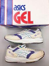 Vintage DS Asics Gel Saga Teal Grape Og Size 6.5 Men RF Rare Shoes
