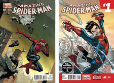 AMAZING SPIDER-MAN #1 JEROME OPENA 1:75 VARIANT +REGULAR EDITION ENDS SUPERIOR