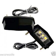 Trailer Van Caravan Motorhome Rear LED Number Licence Plate SMD  Light 12 volt