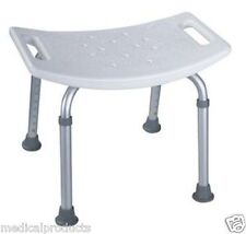 NEW BATHTUB BATH TUB SHOWER SEAT CHAIR BENCH WITHOUT BACK MEDICAL GRADE