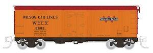 RAPIDO 521046 N SCALE GARX 37' Wood Meat Reefer Wilson & Co Lines (WCLX 4-Pack)
