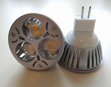 6 Spot LED MR16 3W blanc chaud
