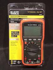 Klein Tools Electricians HVAC Backlit Voltage Current Multi Tester Meter NIB NEW