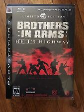 Brothers in Arms: Hells Highway Limited Edition( PlayStation 3 BRAND NEW)