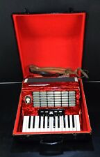 VINTAGE TOP GERMAN PIANO ACCORDION WELTMEISTER STELLA 40 bass&CASE~PETROF STORE~