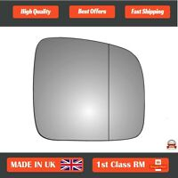 Right Driver Wide Angle Wing Mirror Glass Volkswagen T5 2003-2009 49RAS