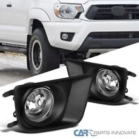 For 12-15 Toyota Tacoma Front Bumper Driving Lamps Fog Lights+Switch+H11 Bulbs