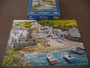 PORT ISAAC 500 PIECE GIBSONS JIGSAW USED