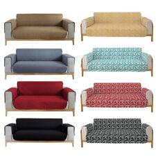 1/2/3/4 Seater Reversible Chair Sofa Cover Pet Waterproof Slipcover Protector