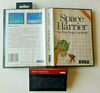 Space Harrier (Sega Master, 1986) SMS -  Tested Working Authentic