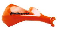 Polisport Sharp Handguards MX Enduro Motocross Hand Guards Fitting Kit Orange